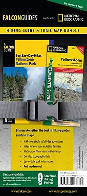 Falcon Best Easy Day Hikes Yellowstone National Park / National Geographic Yellowstone National Park Map By Schneider, Bill